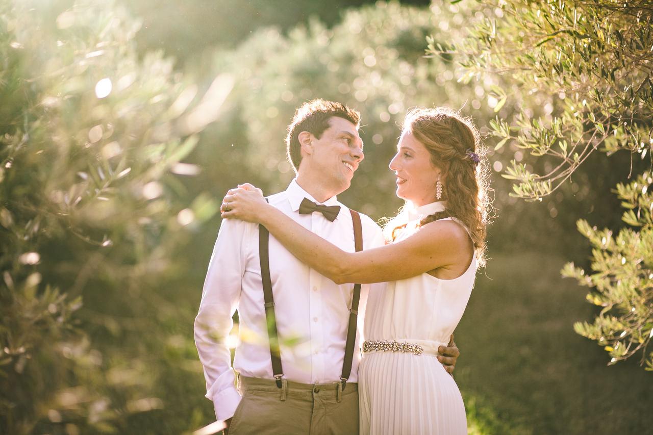 Mariage au Mas Canet, à St Paulet de Caisson