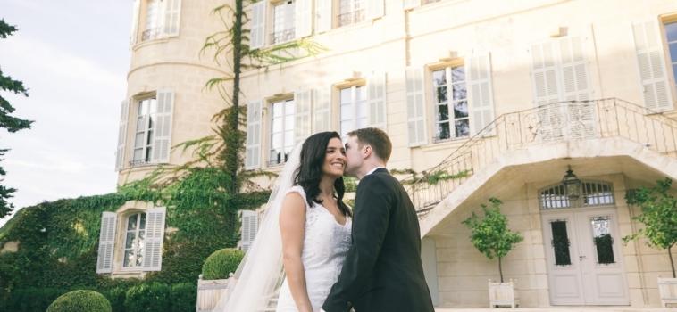 Mariage au Château d'Estoublon en Provence