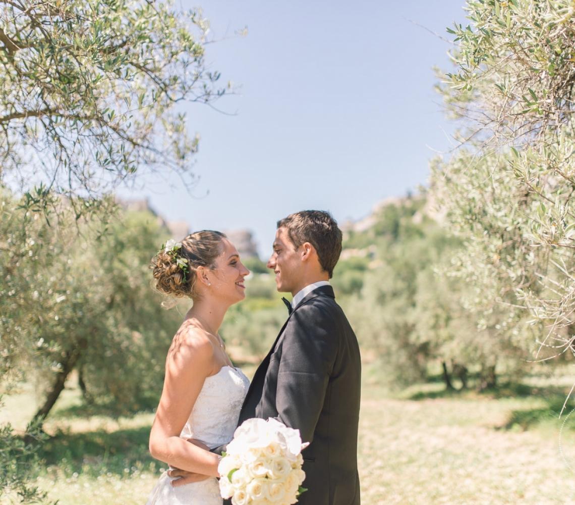 Mariage Mas des Thyms Baux de Provence Photographe de Mariage-1