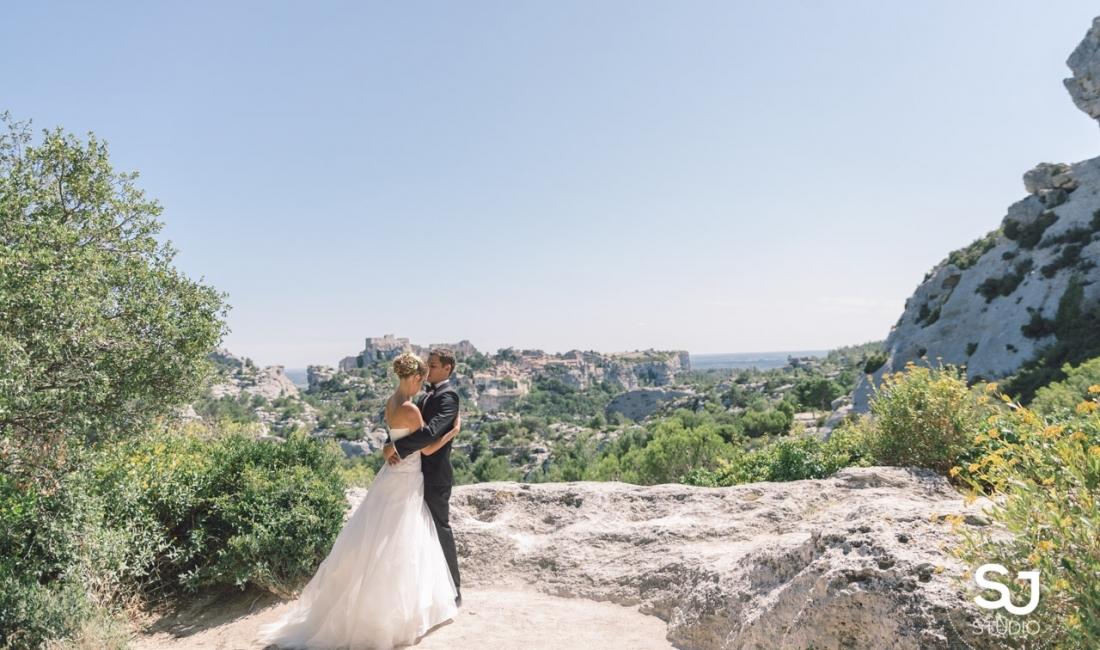 Mariage au Mas des Thyms et Baux de Provence