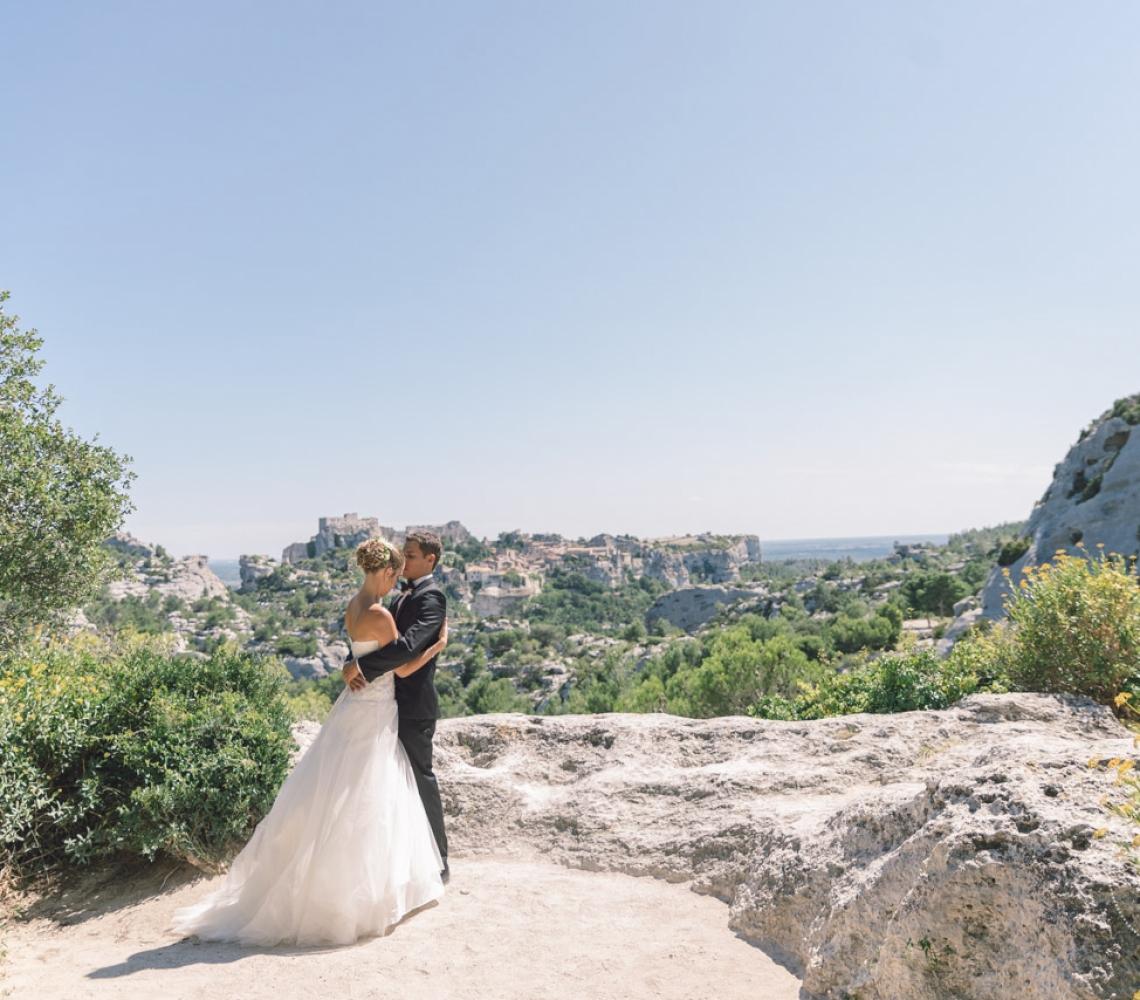 Mariage Mas des Thyms Baux de Provence Photographe de Mariage-14