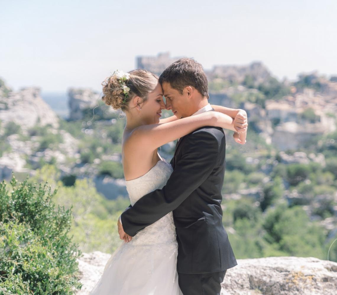 Mariage Mas des Thyms Baux de Provence Photographe de Mariage-15