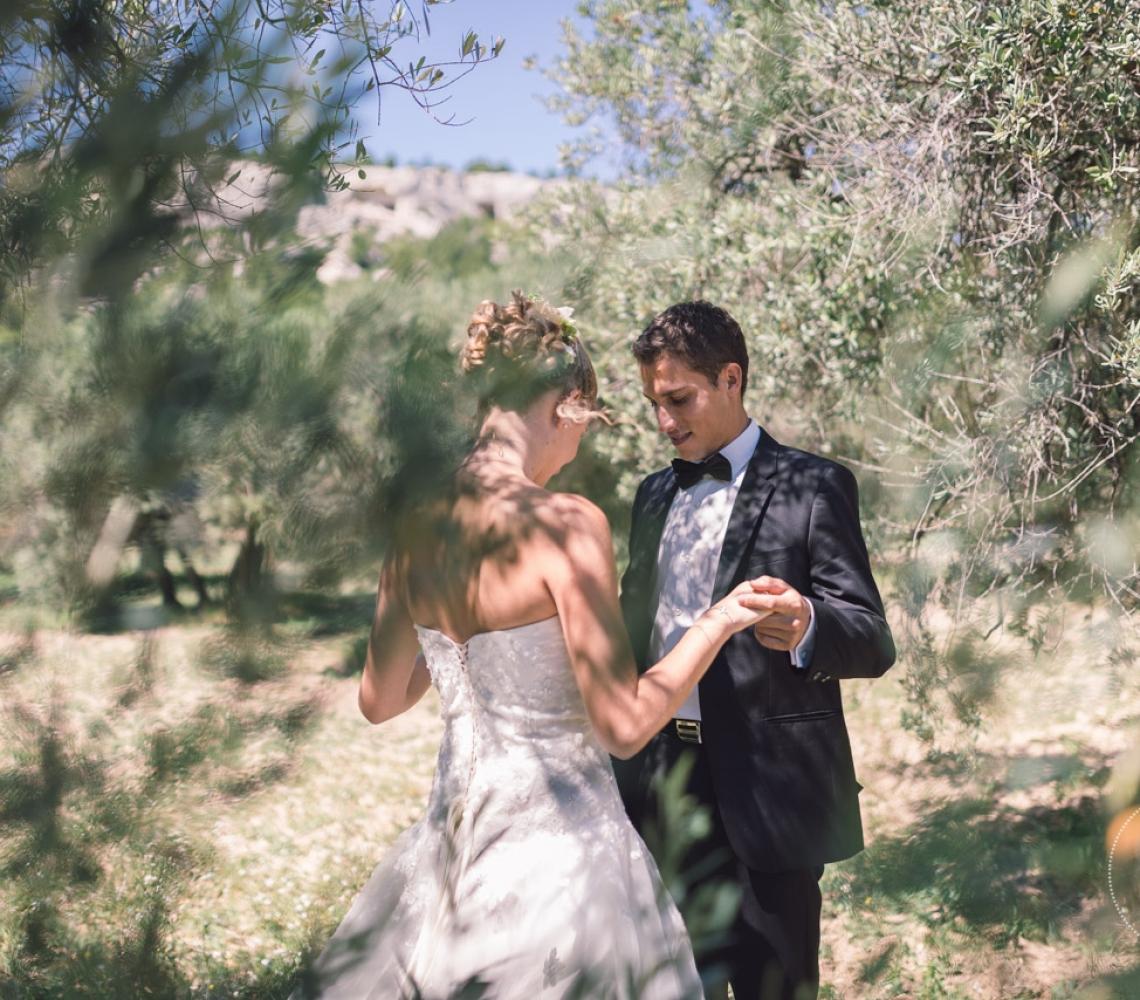 Mariage Mas des Thyms Baux de Provence Photographe de Mariage-2
