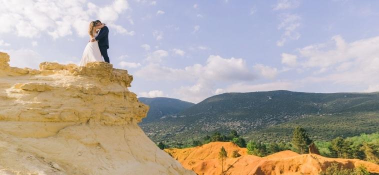 Mariage à Rustrel Colorado Provencal