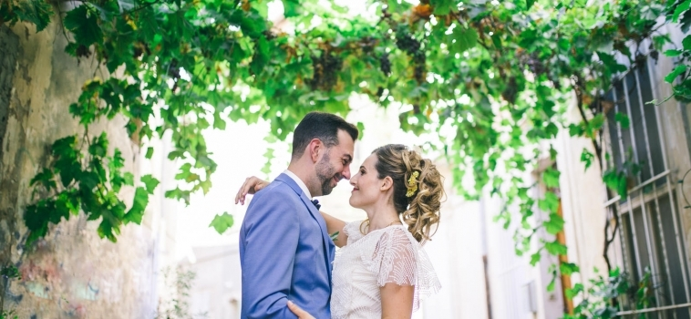 Mariage dans les rues d'Arles